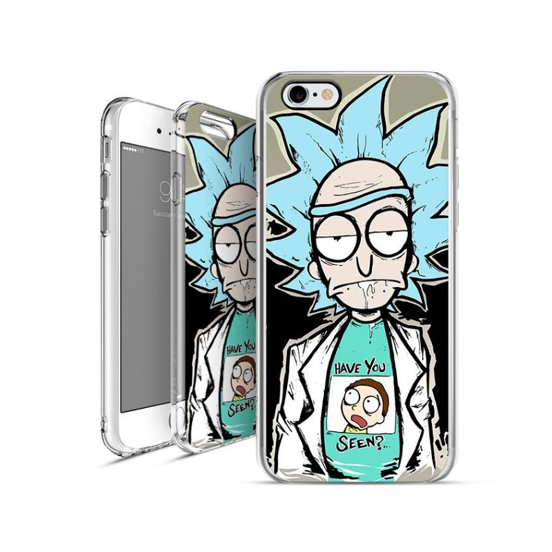 RICK AND MORTY 4 | apple - motorola - samsung -  sony - asus - lg | capa de celular