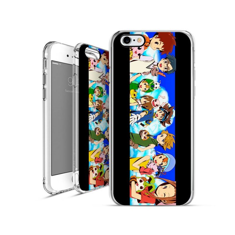 DIGIMON 5 | apple - motorola - samsung - sony - asus - lg | capa de celular