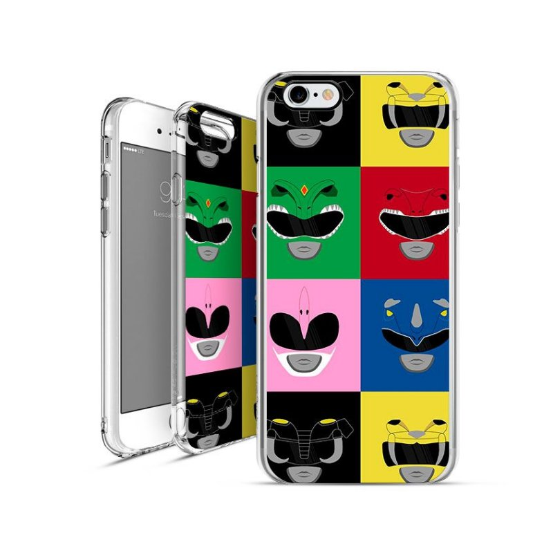POWER RANGES 8 | apple - motorola - samsung - sony - asus - lg | capa de celular