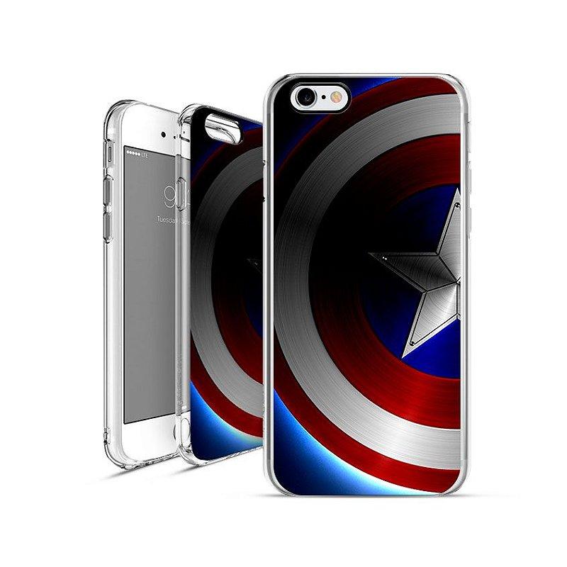 Capitão Americano | galaxy-iphone-xperia-moto-lg-zenfone | capa de celular