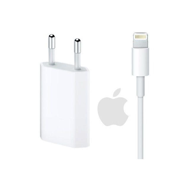 Kit Cabo USB + Fonte para iPhone