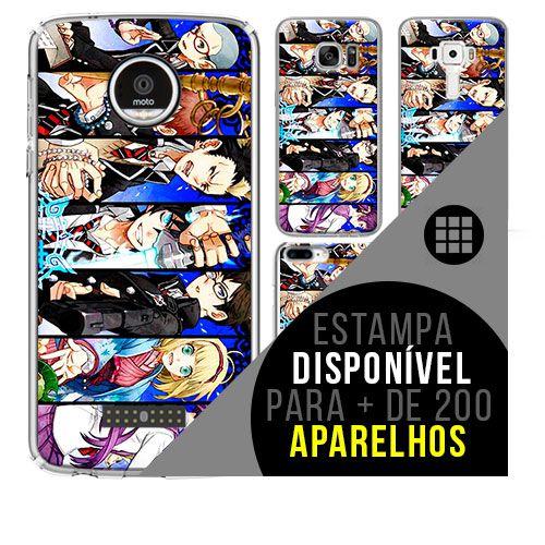 Capa de celular - Blue-exorcist 2 [disponível para + de 200 aparelhos]