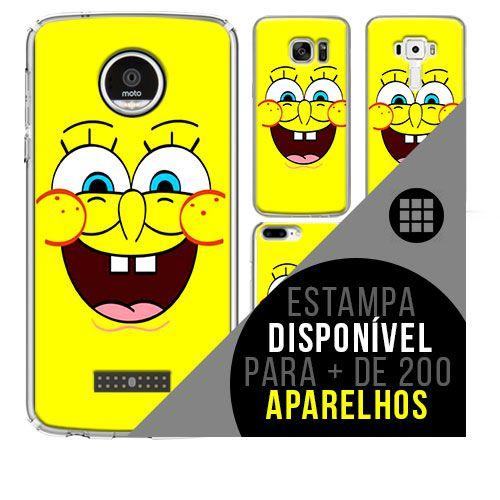Capa de celular - BOB ESPONJA [disponível para + de 200 aparelhos]
