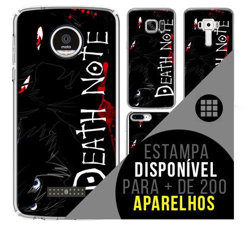 Capa de celular - DEATH NOTE 3 [disponível para + de 200 aparelhos]