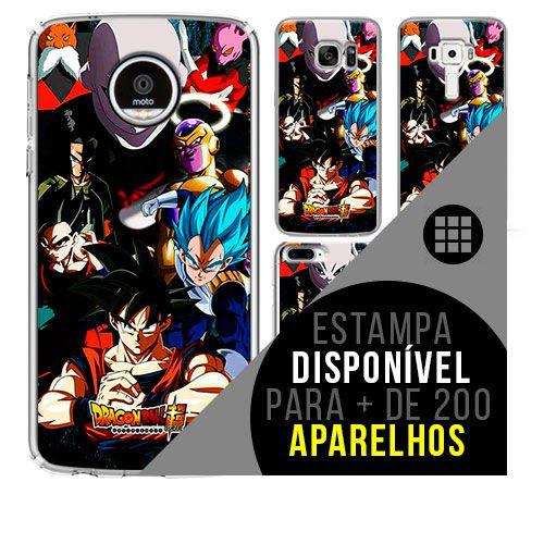 Capa de celular - DRAGON BALL Z 40 [disponível para + de 200 aparelhos]