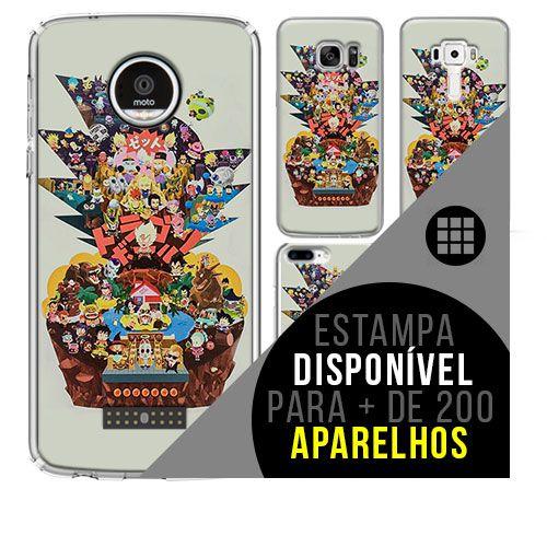 Capa de celular - DRAGON BALL Z 54 [disponível para + de 200 aparelhos]