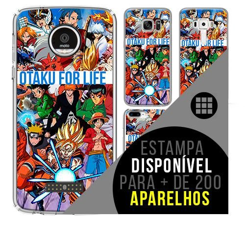 Capa de celular - DRAGON BALL Z otaku [disponível para + de 200 aparelhos]