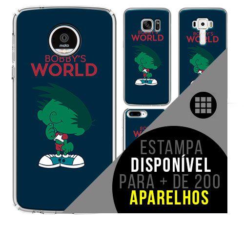Capa de celular - FASTÁSTICO MUNDO DE BOB  [disponível para + de 200 aparelhos]