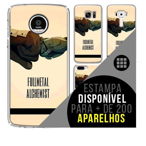 Capa de celular - FULLMETAL ALCHEMIST 21 [disponível para + de 200 aparelhos]