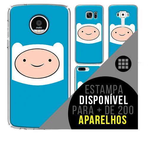 Capa de celular - hora da aventura  finn [disponível para + de 200 aparelhos]