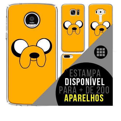 Capa de celular - hora da aventura  jake [disponível para + de 200 aparelhos]