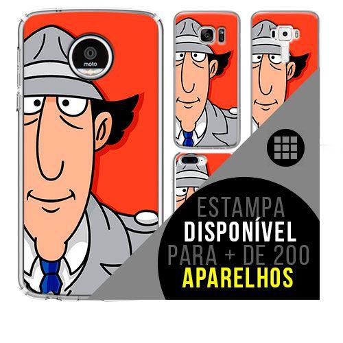 Capa de celular - inspetor bugiganga [disponível para + de 200 aparelhos]