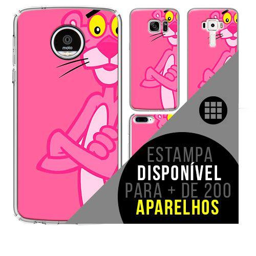 Capa de celular - PANTERA COR DE ROSA [disponível para + de 200 aparelhos]