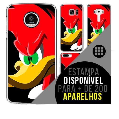Capa de celular - PICA-PAU [disponível para + de 200 aparelhos]