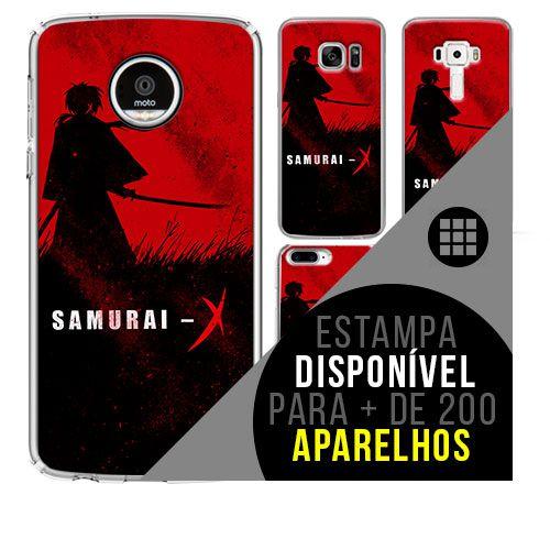 Capa de celular - SAMURAI X [disponível para + de 200 aparelhos]