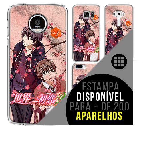 Capa de celular - SEKAI ICHI HATSUKOI [disponível para + de 200 aparelhos]