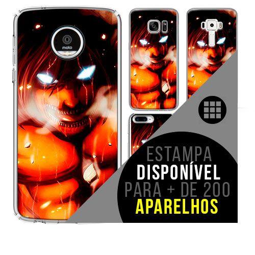 Capa de celular - SHINGEKI NO KYOJIN 5 [disponível para + de 200 aparelhos]