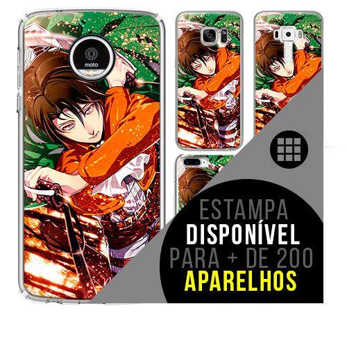 Capa de celular - SHINGEKI NO KYOJIN 4 [disponível para + de 200 aparelhos]