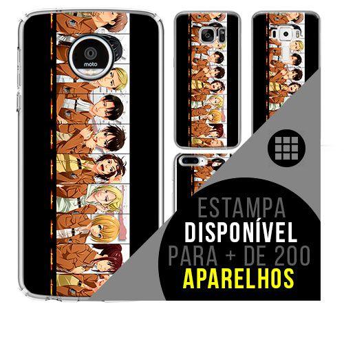 Capa de celular - SHINGEKI NO KYOJIN 8 [disponível para + de 200 aparelhos]