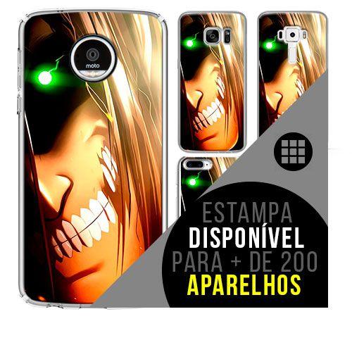 Capa de celular - SHINGEKI NO KYOJIN 18 [disponível para + de 200 aparelhos]