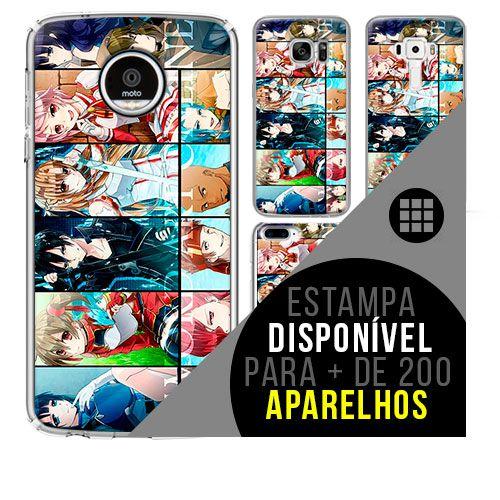 Capa de celular - SWORD ART ONLINE 15 [disponível para + de 200 aparelhos]