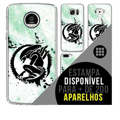 Capa de celular - ALIEN [disponível para + de 200 aparelhos]