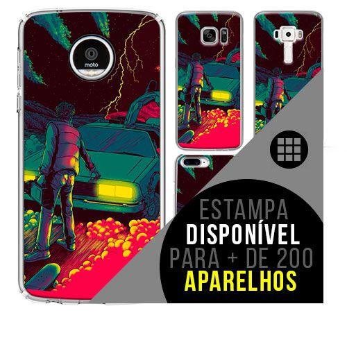 Capa de celular - DE VOLTA PARA O FUTURO [disponível para + de 200 aparelhos]