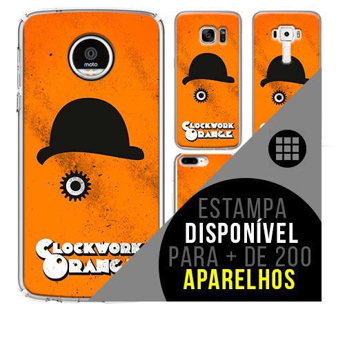 Capa de celular - LARANJA MECÂNICA [disponível para + de 200 aparelhos]