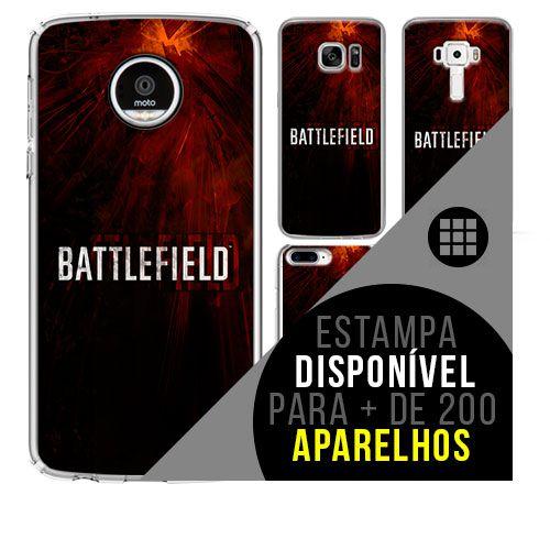 Capa de celular - BATTLEFIELD [disponível para + de 200 aparelhos]