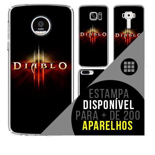 Capa de celular - DIABLO [disponível para + de 200 aparelhos]