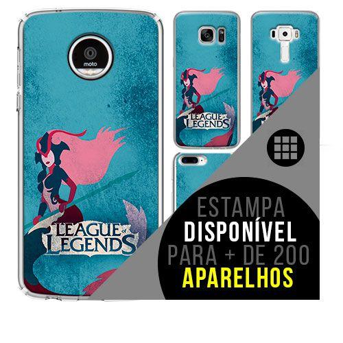 Capa de celular - LEAGUE OF LEGENDS 10 [disponível para + de 200 aparelhos]