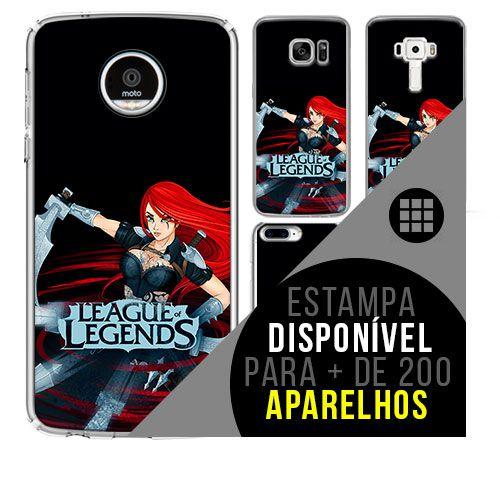 Capa de celular - LEAGUE OF LEGENDS 6 [disponível para + de 200 aparelhos]