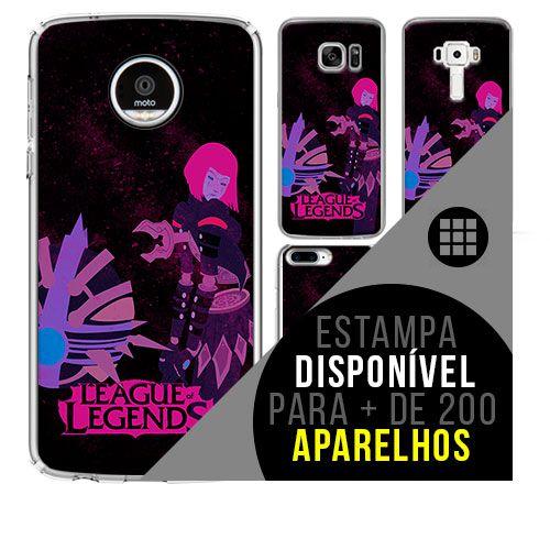 Capa de celular - LEAGUE OF LEGENDS 7 [disponível para + de 200 aparelhos]