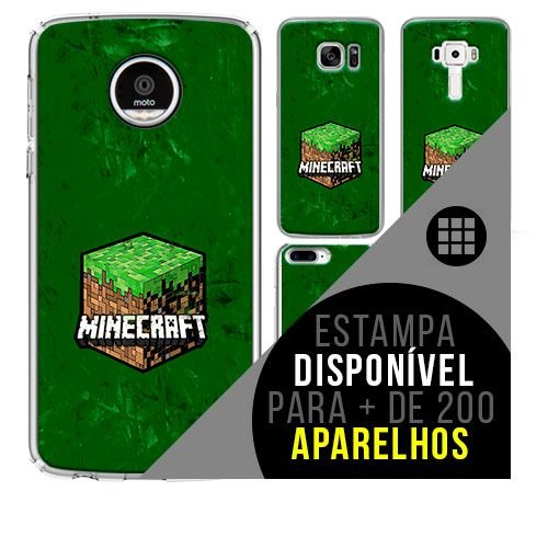 Capa de celular - MINECRAFT [disponível para + de 200 aparelhos]