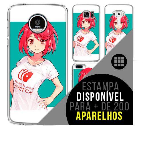 Capa de celular - Xenoblade [disponível para + de 200 aparelhos]