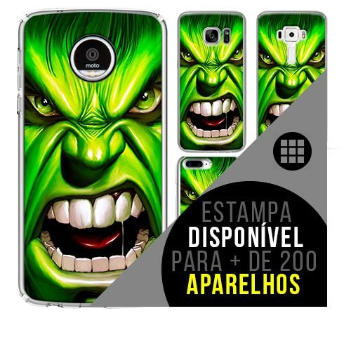 Capa de celular - HULKY1  [disponível para + de 200 aparelhos]