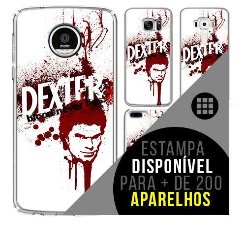 Capa de celular - DEXTER [disponível para + de 200 aparelhos]