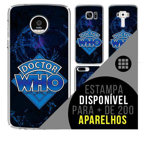 Capa de celular - DOCTOR WHO [disponível para + de 200 aparelhos]