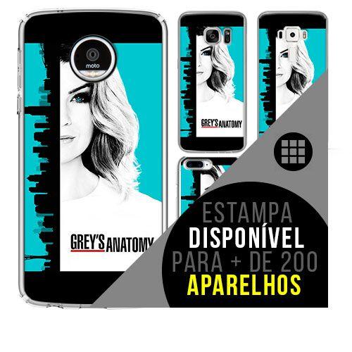 Capa de celular - Grey's Anatomy  [disponível para + de 200 aparelhos]