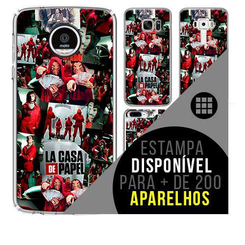 Capa de celular - LA CASA DE PAPEL 2 [disponível para + de 200 aparelhos]