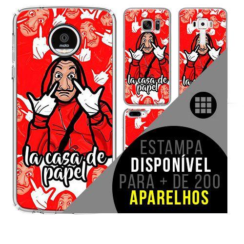 Capa de celular - LA CASA DE PAPEL 3 [disponível para + de 200 aparelhos]