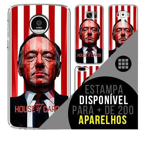 Capa de celular - HOUSE OF CARDS  [disponível para + de 200 aparelhos]
