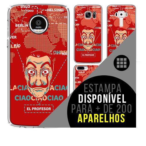 Capa de celular - LA CASA DE PAPEL 9 [disponível para + de 200 aparelhos]