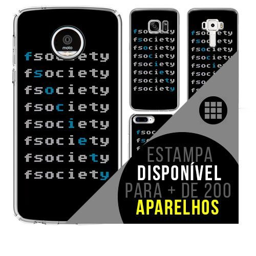 Capa de celular - MR. ROBOT 3 [disponível para + de 200 aparelhos]