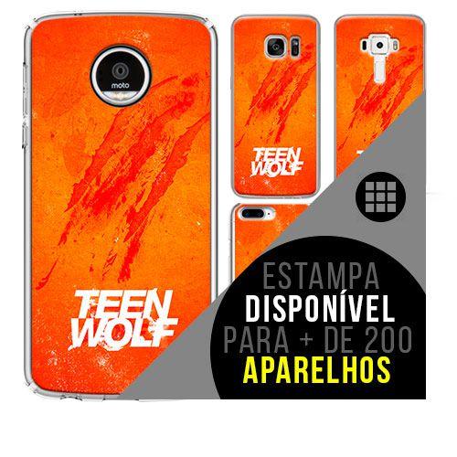 Capa de celular - TEEN WOLF [disponível para + de 200 aparelhos]