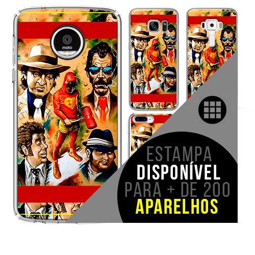 Capa de celular - 5 CHAPOLIN [disponível para + de 200 aparelhos]