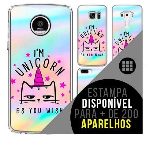 Capa de celular - Unicórnio 9 [disponível para + de 200 aparelhos]