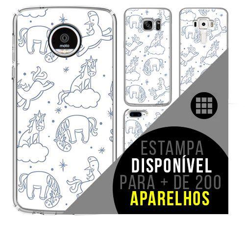 Capa de celular - Unicórnio 17 [disponível para + de 200 aparelhos]