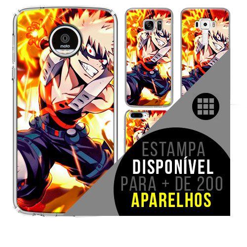 Capa de celular boku-no-hero - Katsuki-Bakugo 12 [disponível para + de 200 aparelhos]