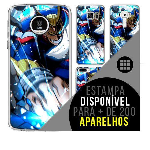 Capa de celular boku-no-hero - All-Might 35 [disponível para + de 200 aparelhos]